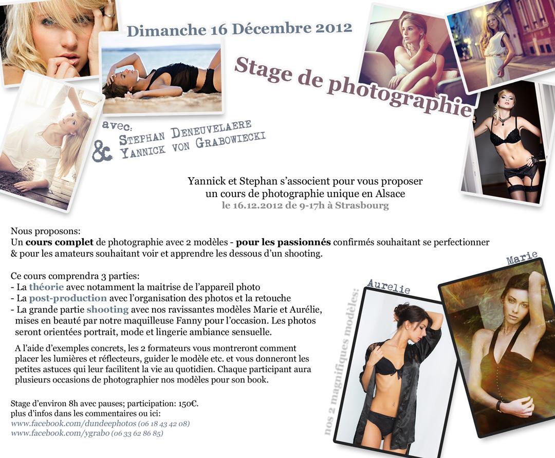 Workshop Aurélie & Marie Strasbourg