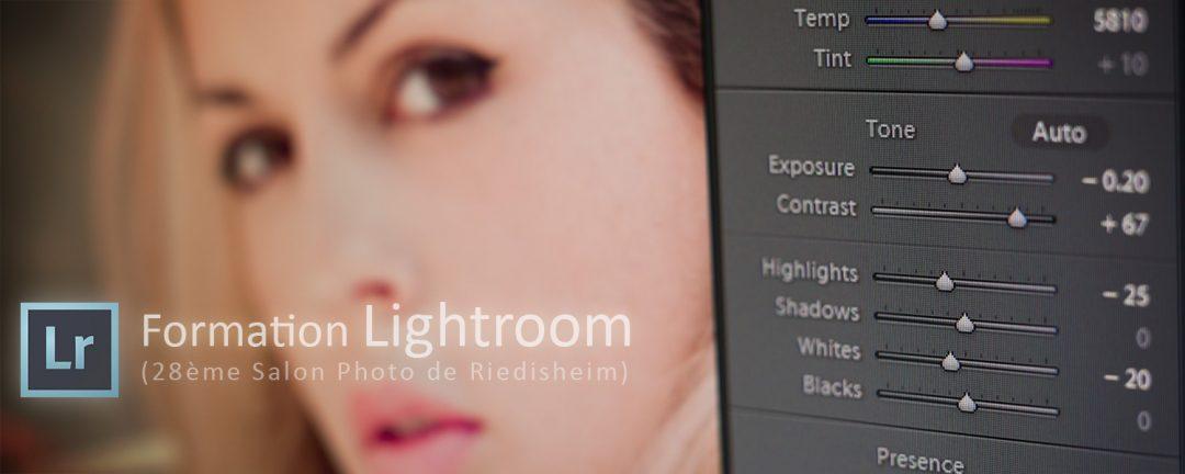 stage photo initiation Lightroom salon photo